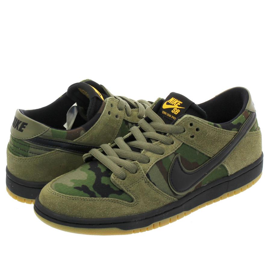 77140ea8ba0881 NIKE SB ZOOM DUNK LOW PRO Nike SB zoom dunk low pro MEDIUM OLIVE BLACK GUM