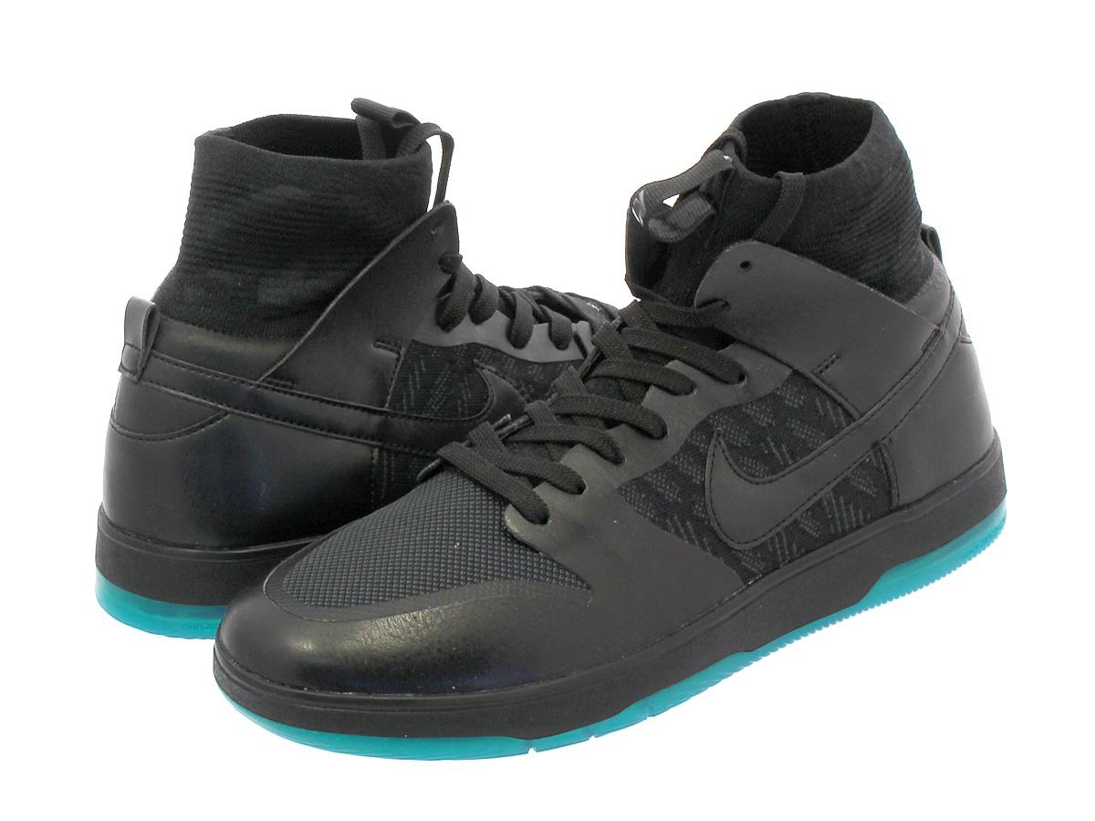 premium selection c6bbc b0ee9 NIKE ZOOM DUNK HIGH ELITE UNIVERSITY Nike SB zoom dunk high elite  BLACK/BLACK/DARK ATOMIC/TEAL