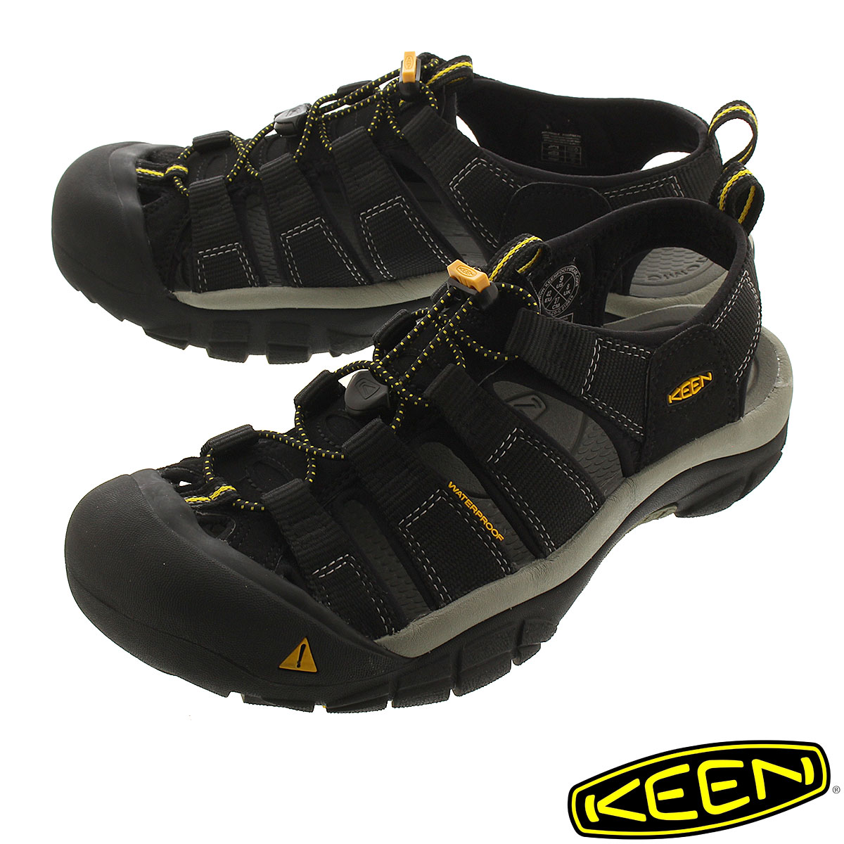 送料無料 KEEN キーン 情熱セール メンズ 靴 サンダル 1001907 H2 BLACK メン 直輸入品激安 NEWPORT MEN ニューポート