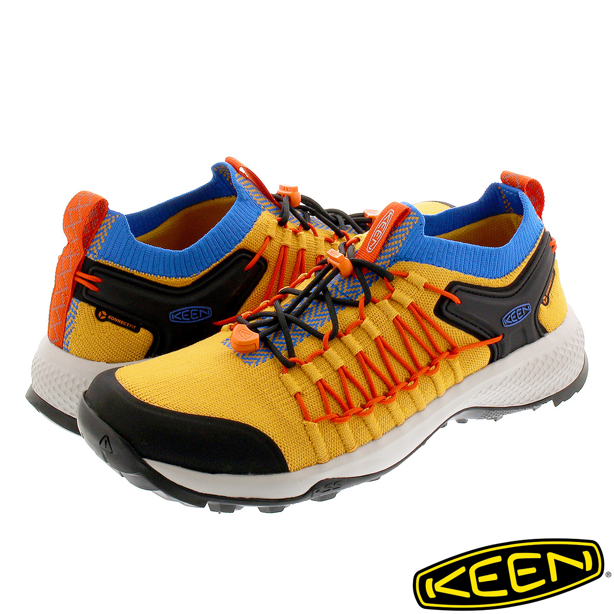 KEEN EXPLORE UNEEK キーン エクスプロール ユニーク ARTISAN GOLD/RED ORANGE 1021798