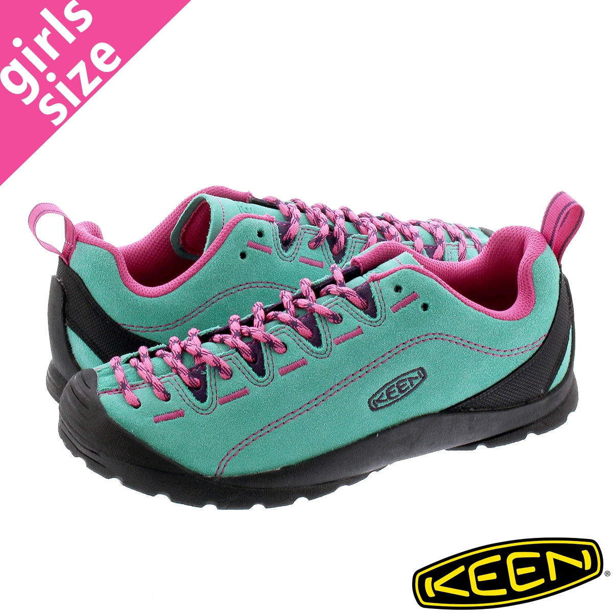 KEEN WOMEN JASPER 【レディース】 キーン ウーマン ジャスパー DUSTY JADE GREEN/FUCHSIA PINK 1022820