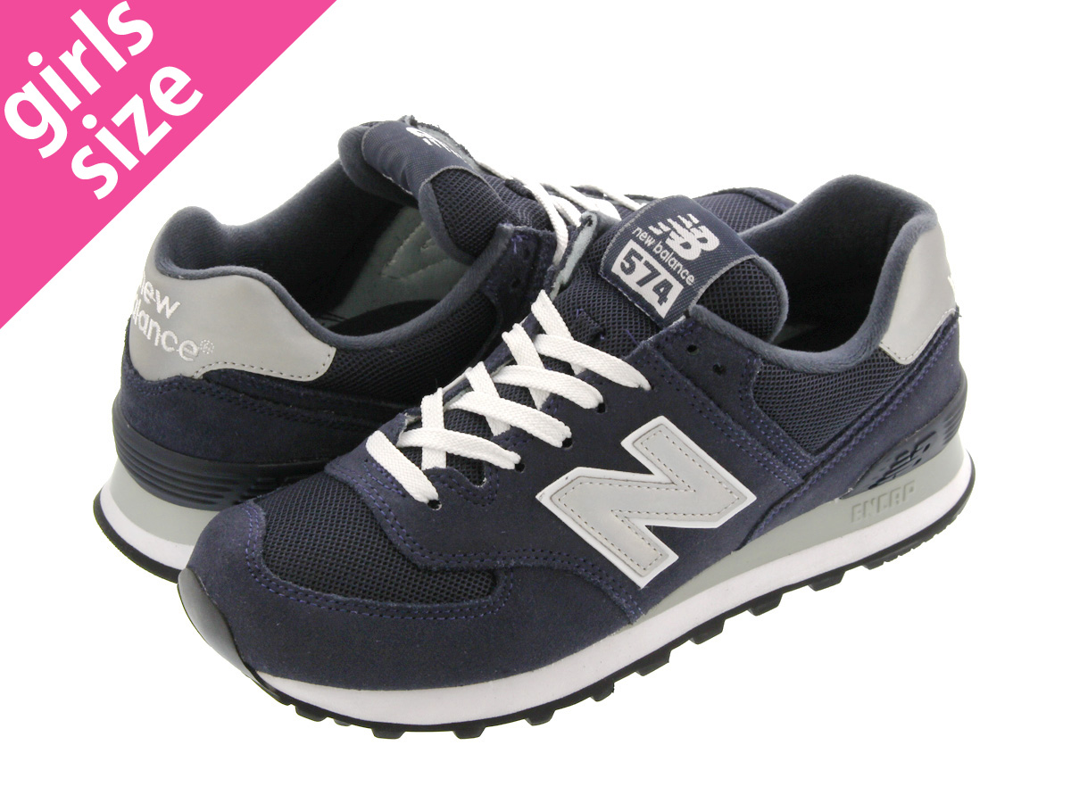 NEW BALANCE M574NN NAVY/GREY