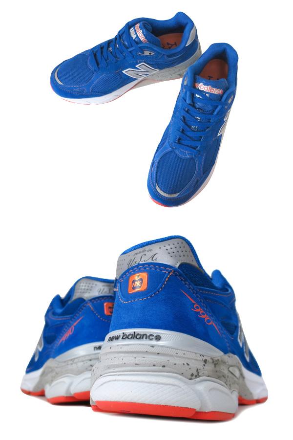 NEW BALANCE M990NM3新平衡M 990 NM3 BLUE/ORANGE
