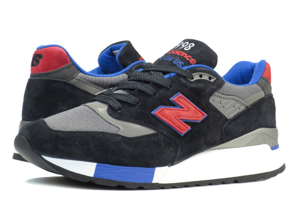 NEW BALANCE M998CBL 【MADE IN U.S.A.】 【Dワイズ】 ニューバランス M 998 CBL BLACK/RED/BLUE