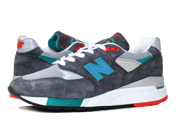 NEW BALANCE M998CSRR 【MADE IN U.S.A.】 【Dワイズ】 ニューバランス M 998 CSRR GREY/GREEN