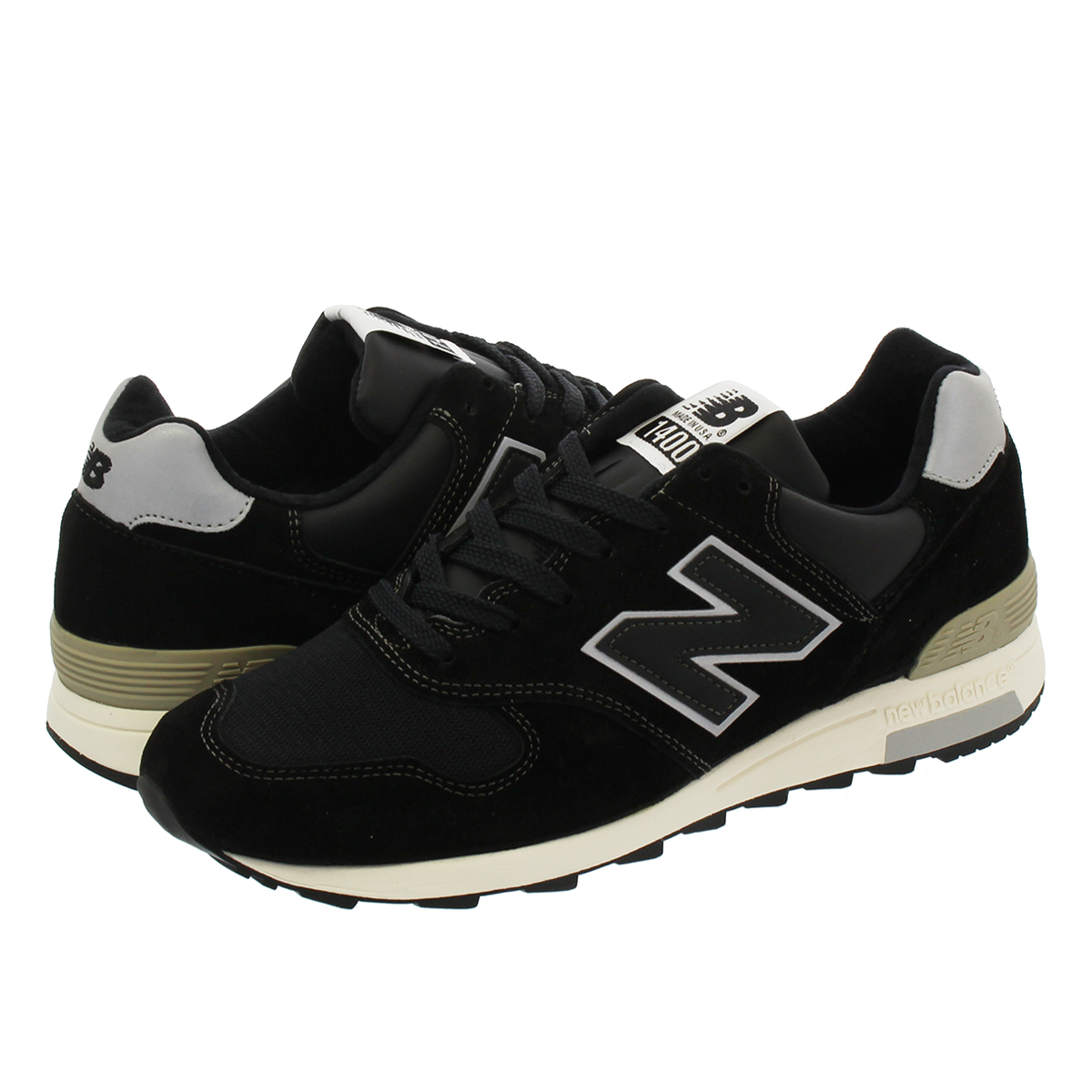 NEW BALANCE M1400BKS 【MADE IN U.S.A】 【Dワイズ】 ニューバランス M1400BKS BLACK/WHITE