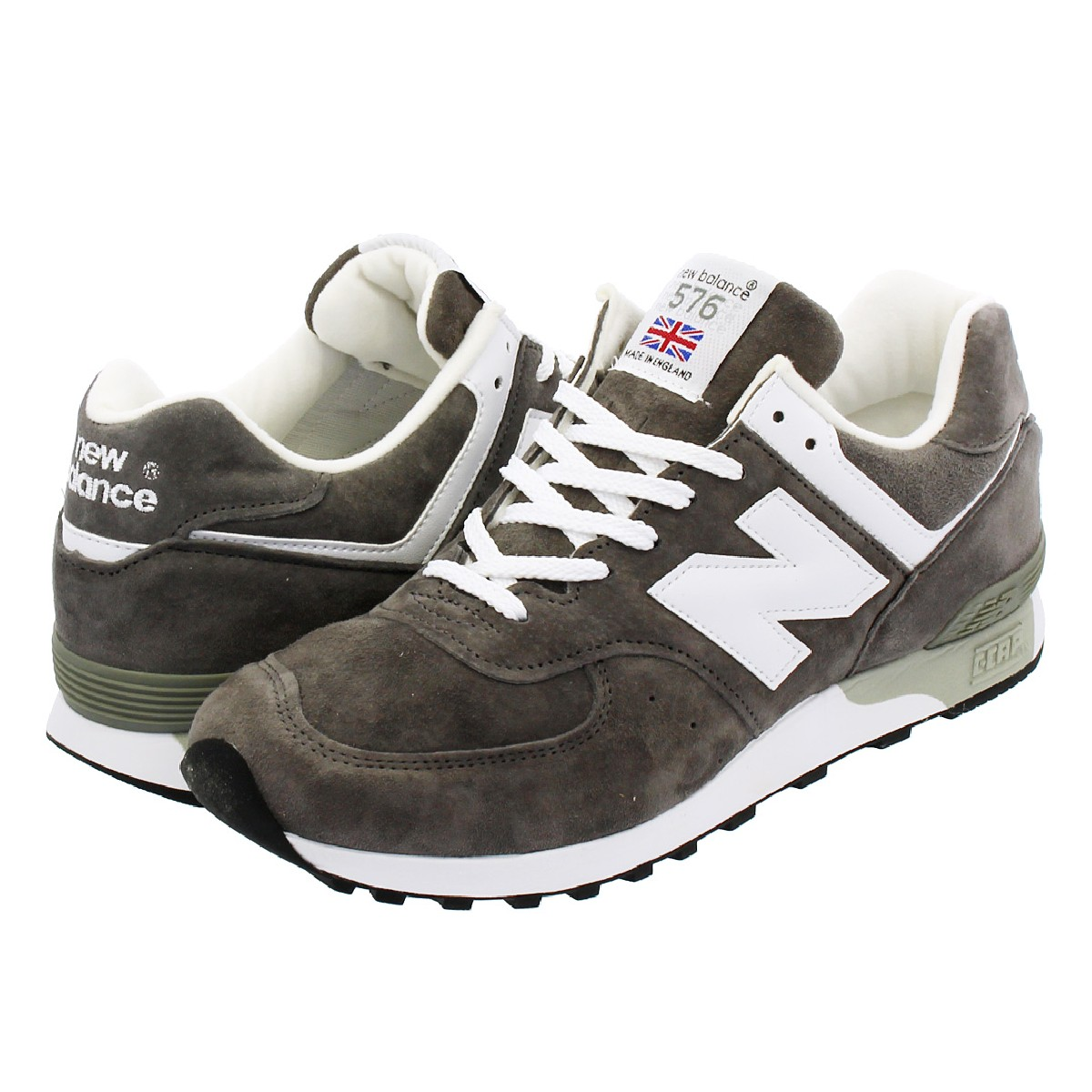 NEW BALANCE M576GRS 【MADE IN ENGLAND】 ニューバランス M 576 GRS GREY