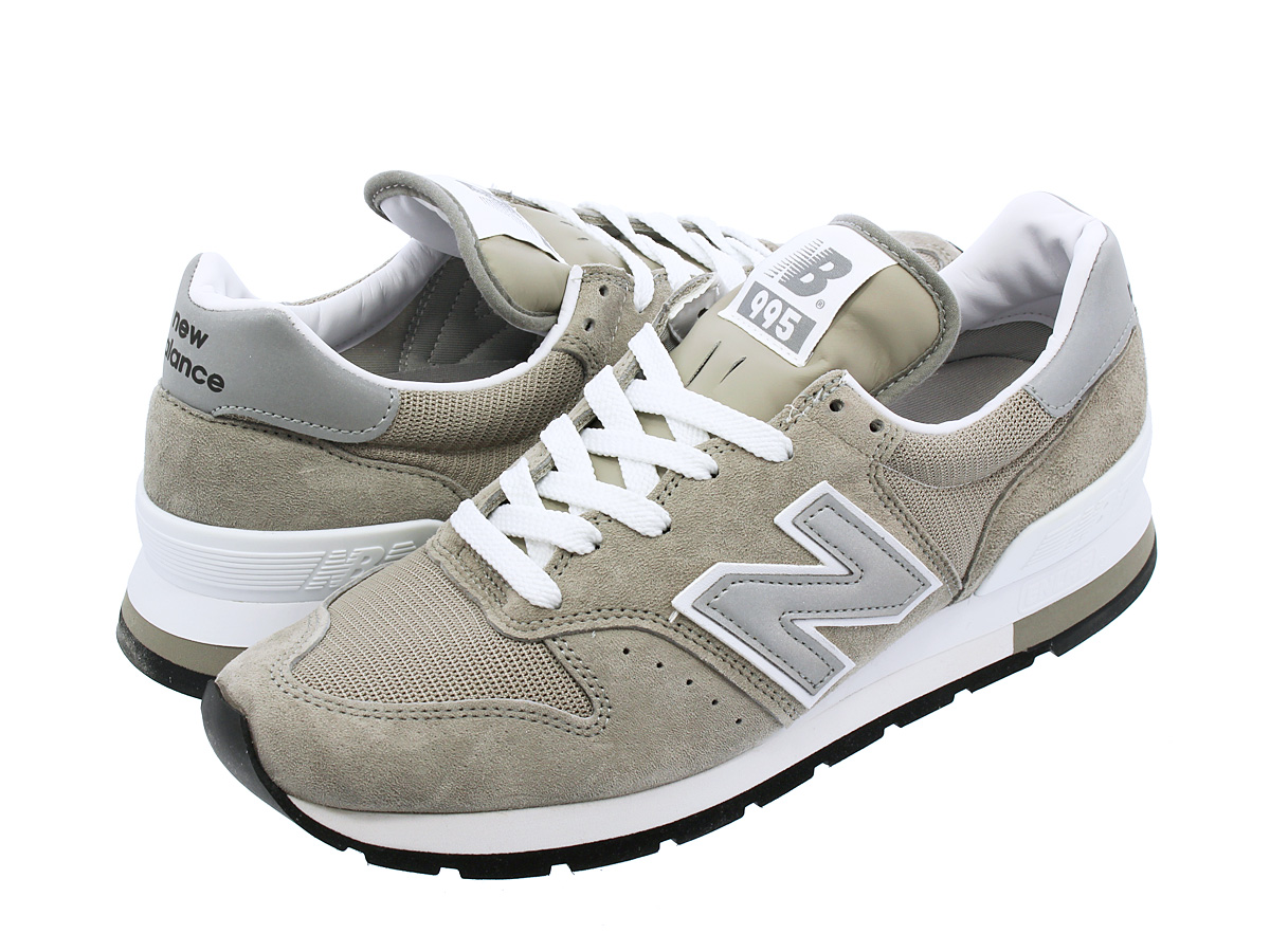 NEW BALANCE M995GR 【MADE IN U.S.A】 【Dワイズ】 ニューバランス M 995 GR GREY