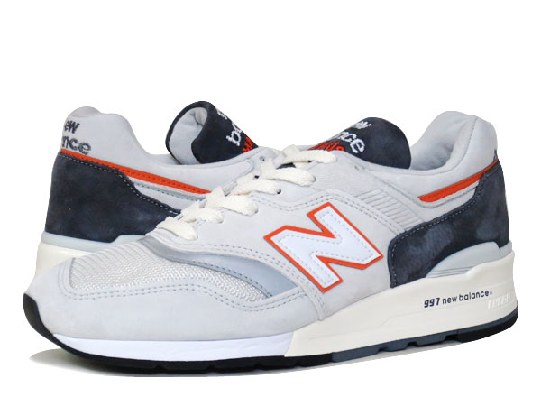 NEW BALANCE M997CSEA 【MADE IN U.S.A.】【Dワイズ】 ニューバランス M 997 CSEA GREY/ORANGE