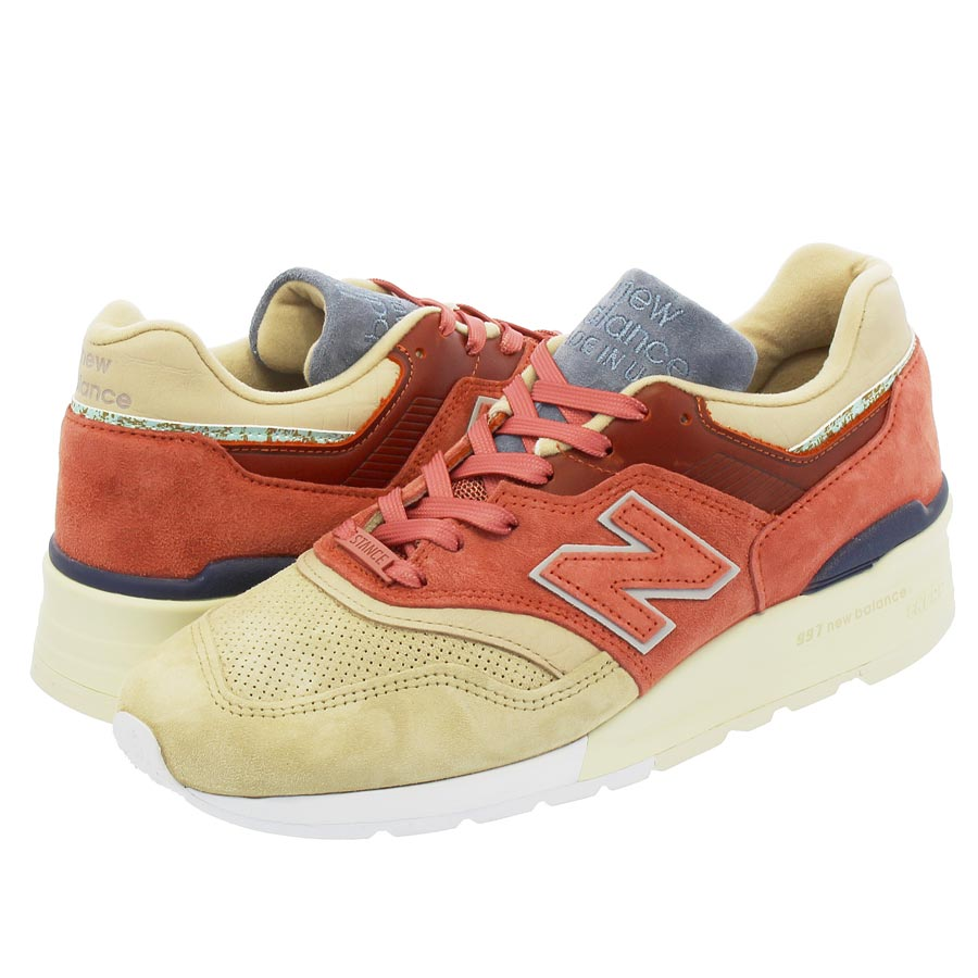 NEW BALANCE M997ST 【STANCE】 【MADE IN U.S.A.】 【Dワイズ】 ニューバランス M 997 STCOPPER ROSE