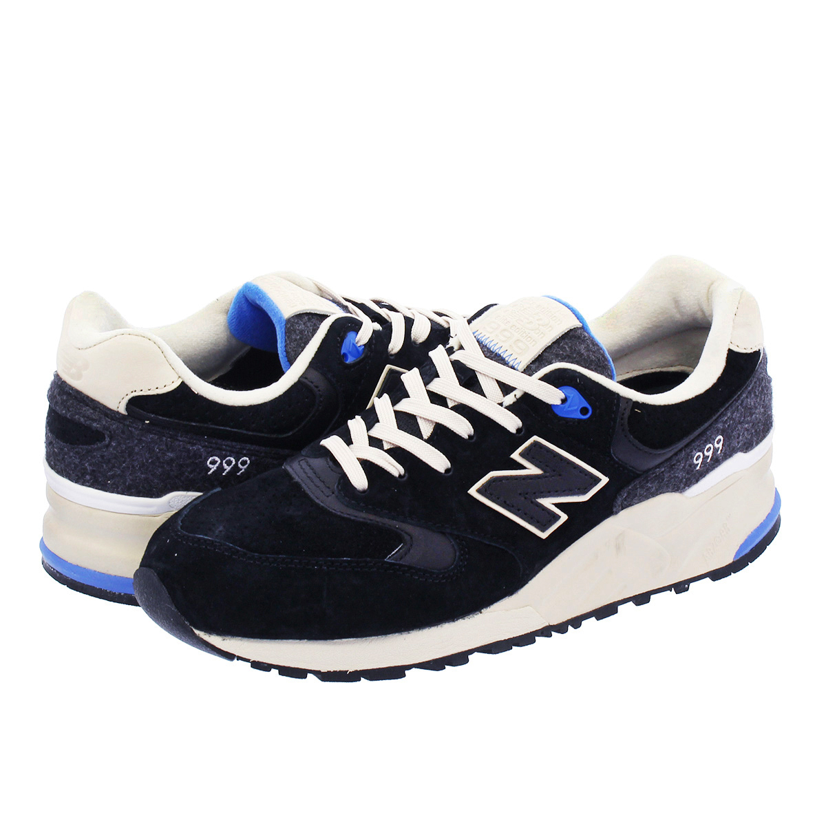 sports shoes d20dc 918af new balance 999 black and white