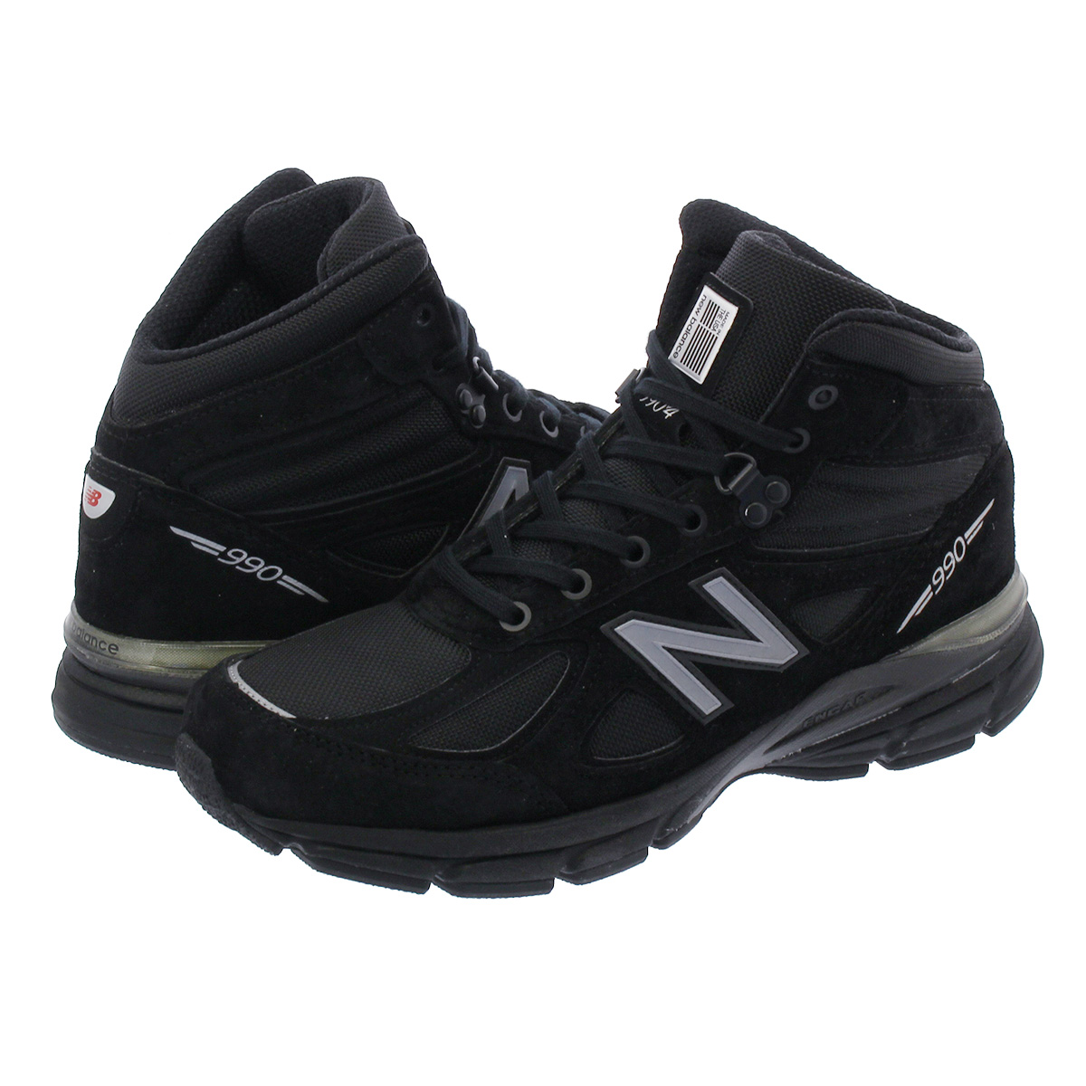 new product d313d 974b3 NEW BALANCE MO990BK4 New Balance MO990 BK4 BLACK