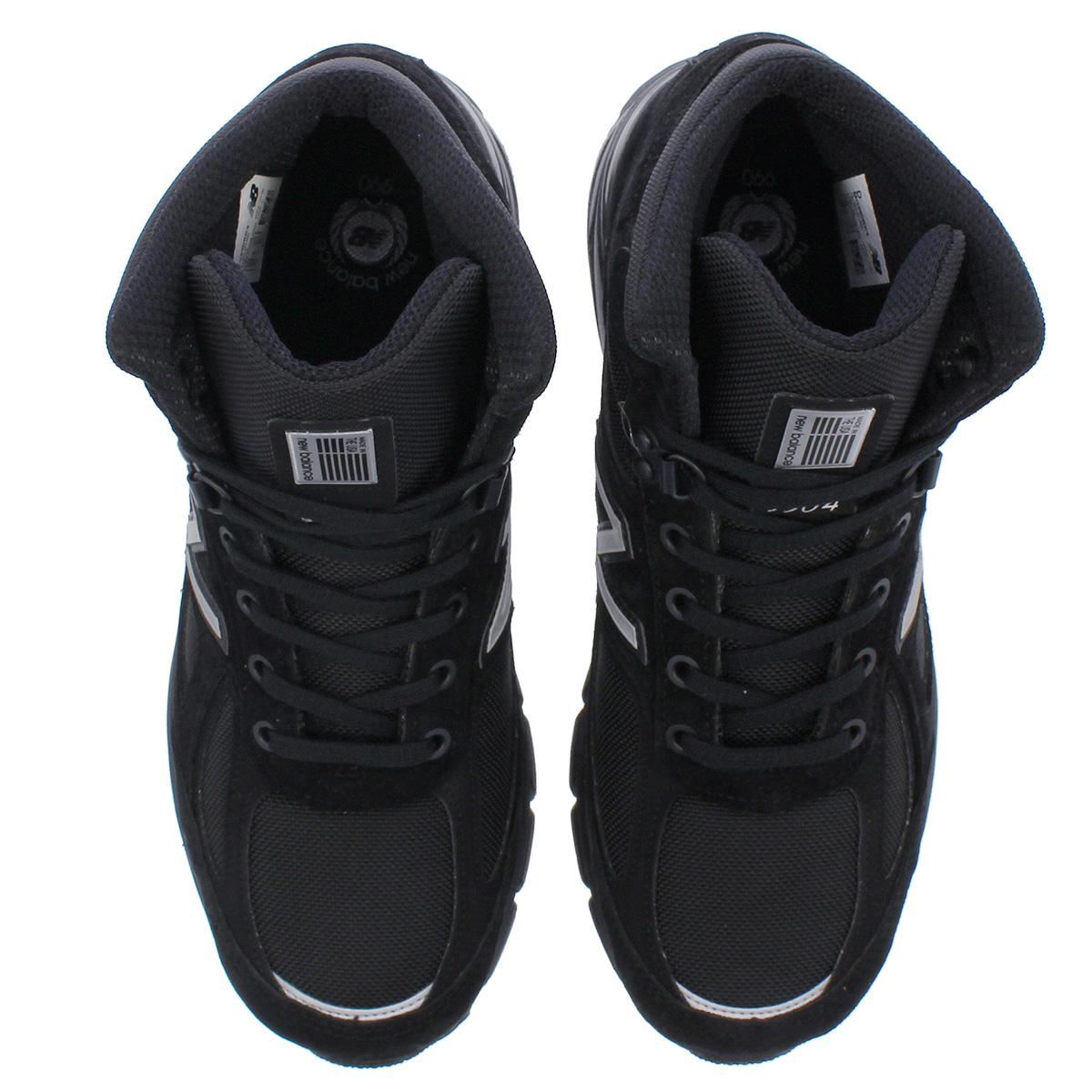 new product 1788a 9774e NEW BALANCE MO990BK4 New Balance MO990 BK4 BLACK