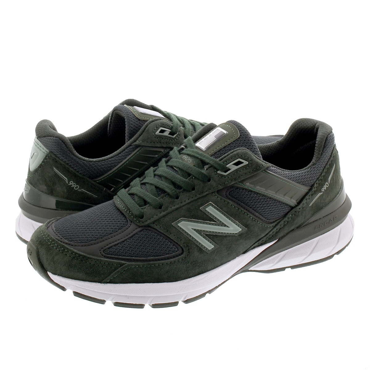 NEW BALANCE M990DC5 【MADE IN U.S.A】【Dワイズ】 ニューバランス M990 DC5 RIFLE GREEN