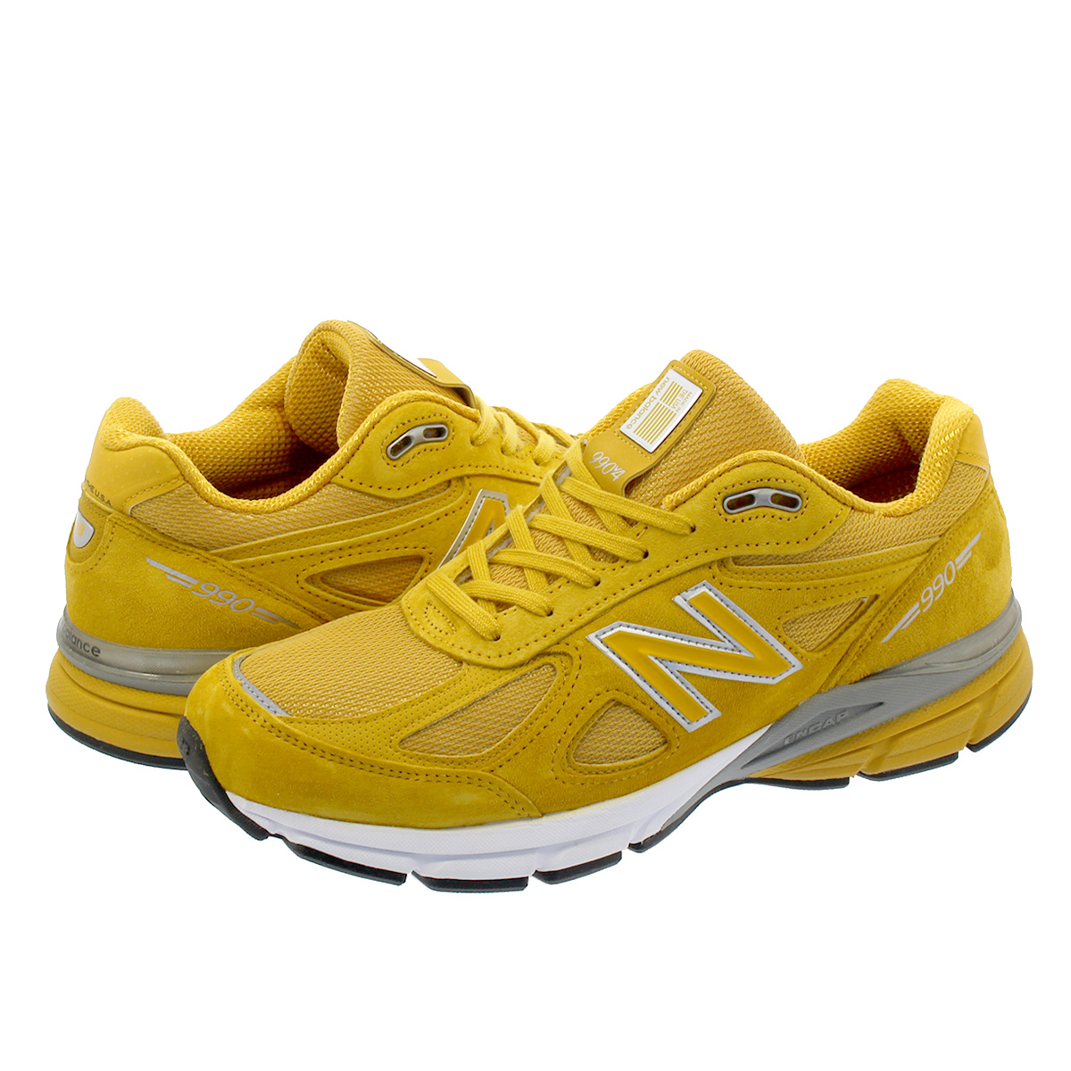 NEW BALANCE M990QK4 【MADE IN U.S.A】 ニューバランス M990 QK4 YELLOW/WHITE, KOUBO 40f6a55a