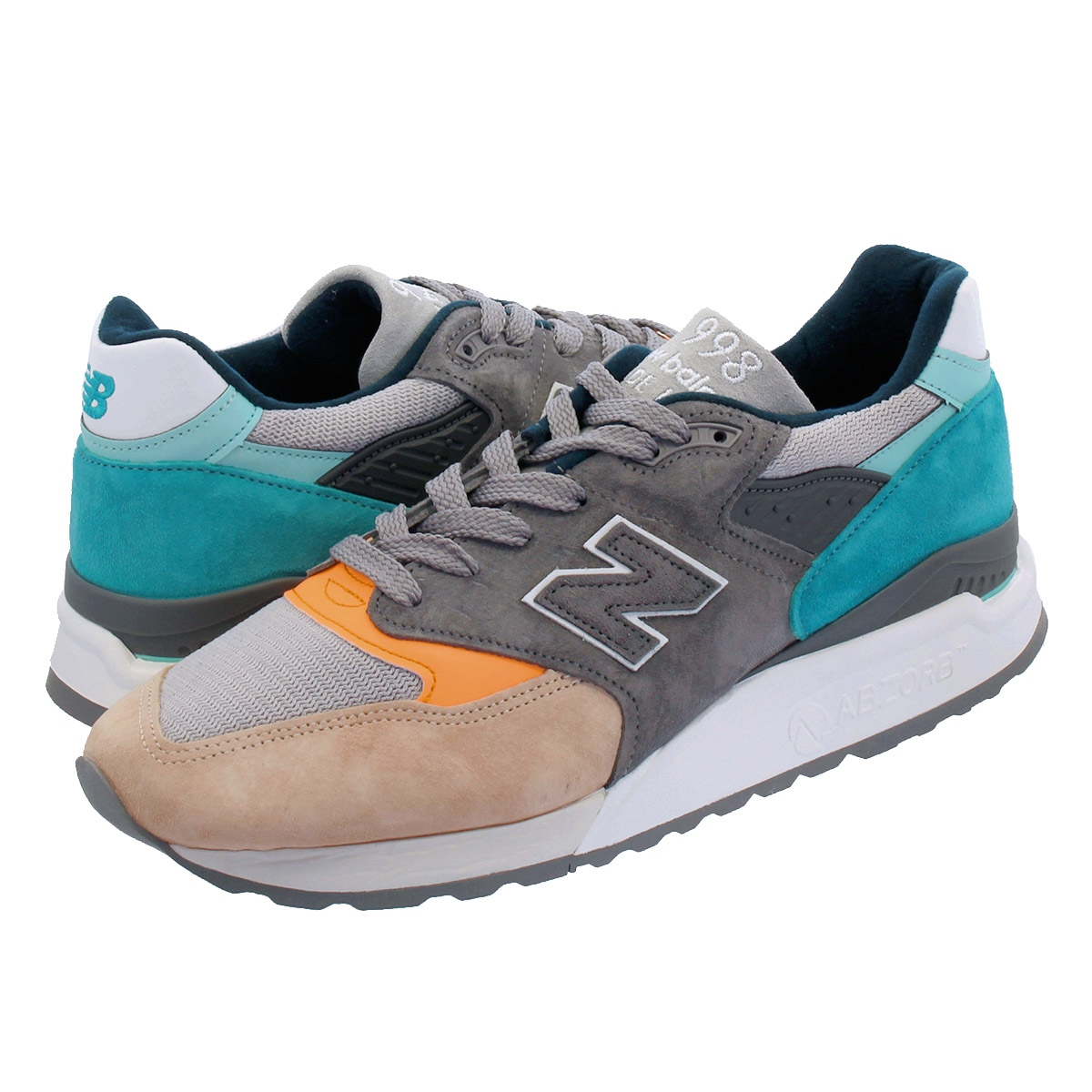 NEW BALANCE M998AWB 【MADE IN U.S.A.】 ニューバランス M 998 AWB GREY/BLUE