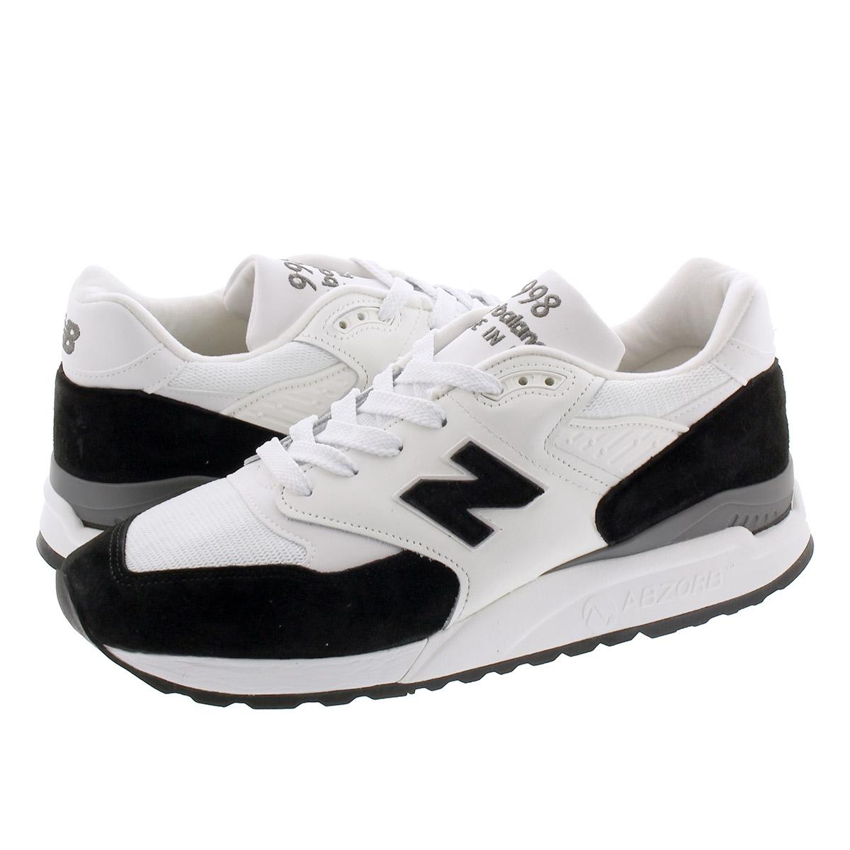 送料無料 New Balance ニューバランス スニーカー 靴 メンズ ホワイト 白 M998psc Black 国際ブランド U S A Made 値下げプライス 毎日がお得 M998 Psc In White M998psc