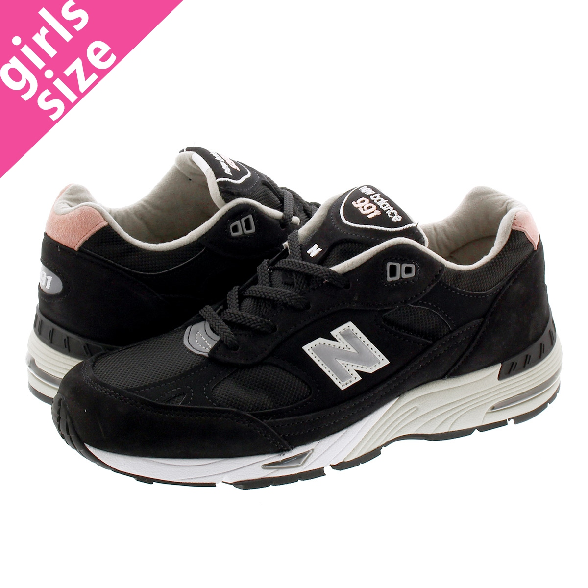 NEW BALANCE W991KKP 【MADE in UK】 ニューバランス W 991 KKP BLACK/PINK