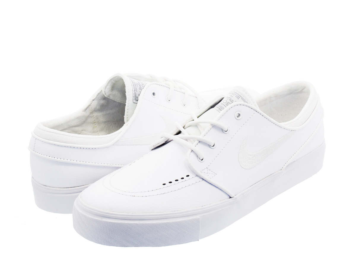 be8a1ddcbf1 SELECT SHOP LOWTEX  NIKE ZOOM STEFAN JANOSKI LEATHER WHITE WHITE ...