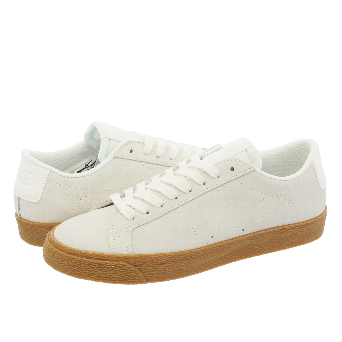NIKE SB BLAZER ZOOM LOW ナイキ SB ブレザー ズーム ロー SUMMIT WHITE /GUM MEDIUM BROWN/BLACK 864347-100