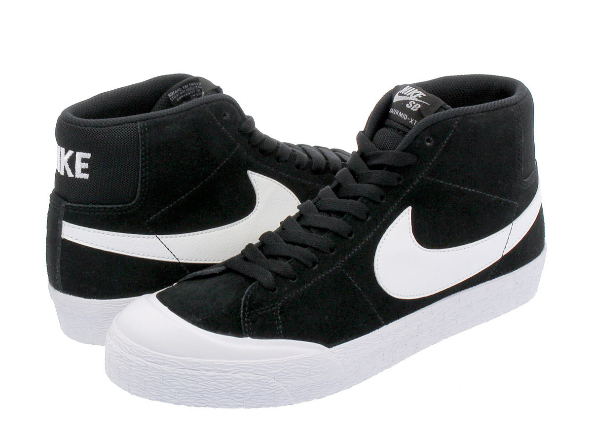 72504f0ed873a5 NIKE SB BLAZER ZOOM MID XT Nike SB blazer zoom mid XT BLACK WHITE GUM LIGHT  BROWN