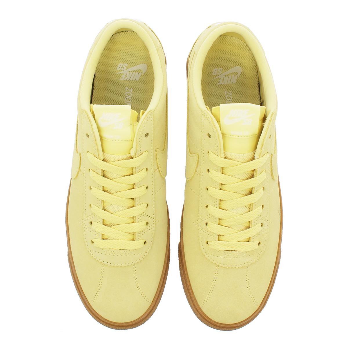 release date 81048 713f0 NIKE SB ZOOM BRUIN PRM SE Nike SB zoom bulldog in premium SE LEMON WASH  WHITE 877,045-700