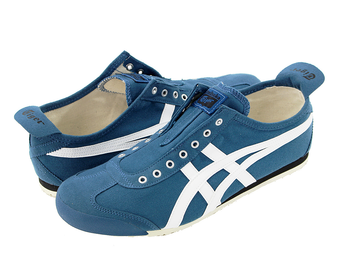 new product e0c3b fae6c onitsuka tiger mexico 66 blue white