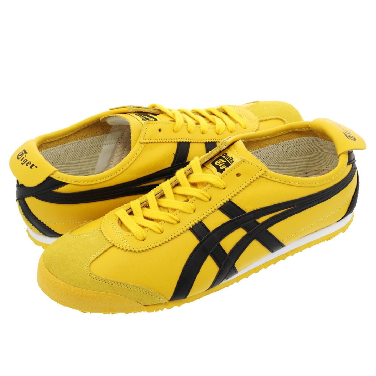 Onitsuka Tiger MEXICO 66 オニツカタイガー メキシコ 66 YELLOW/BLACK thl202-0490