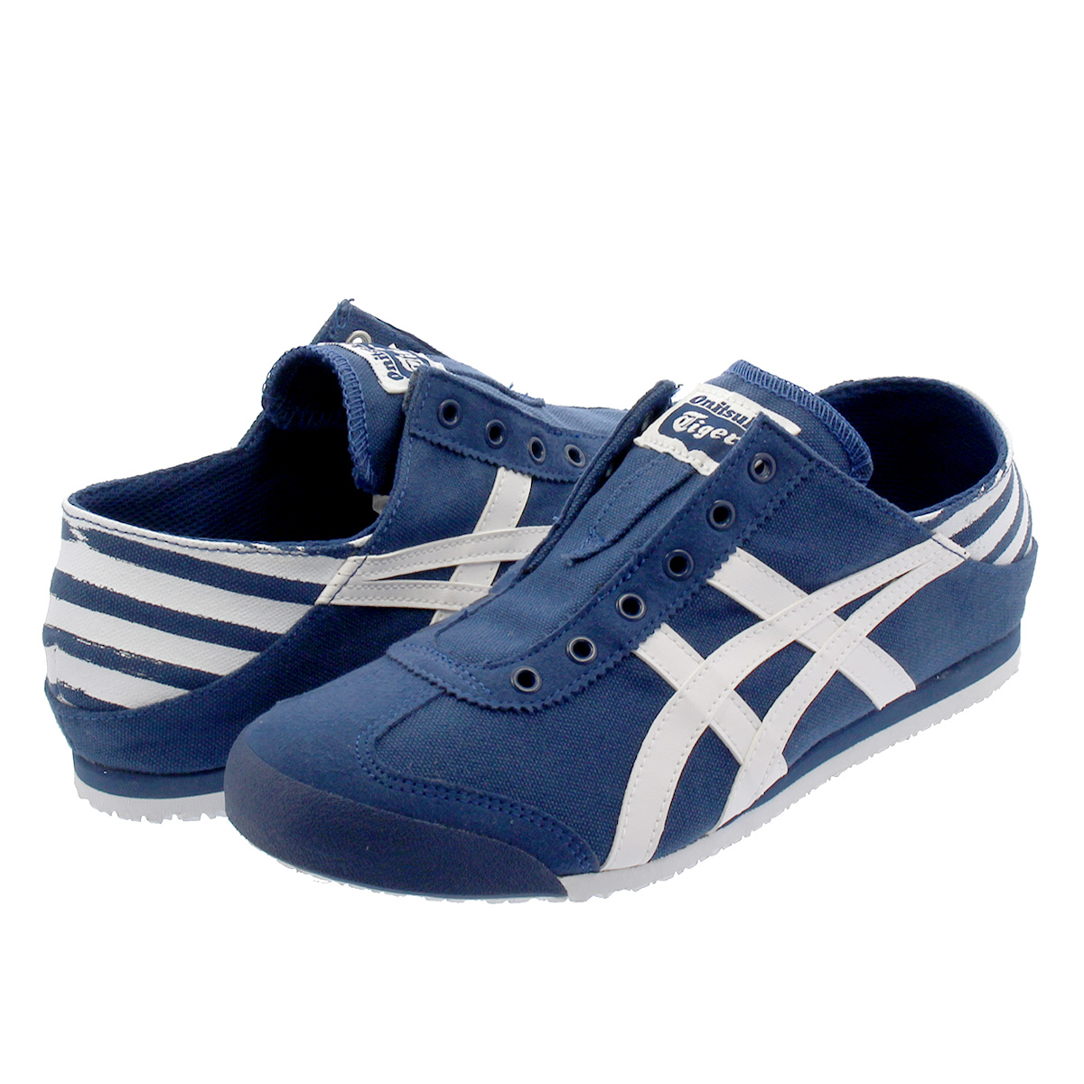 low cost 289cb 07889 Onitsuka Tiger MEXICO 66 PARATY Onitsuka tiger Mexico 66 パラティ MIDNIGHT BLUE WHITE  1183a339-