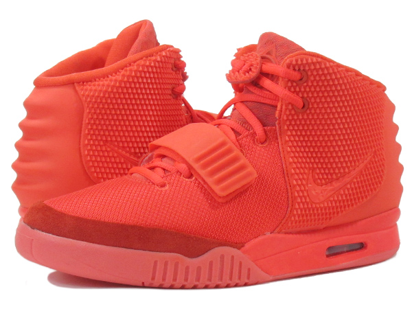 NIKE AIR YEEZY 2 SP耐克空气E G 2 SP RED/RED