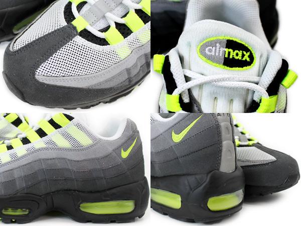Nike Air Max 95 NIKE AIR MAX 95 OG OG WHITE/NEON YELLOW/BLACK/ANTHRACITE