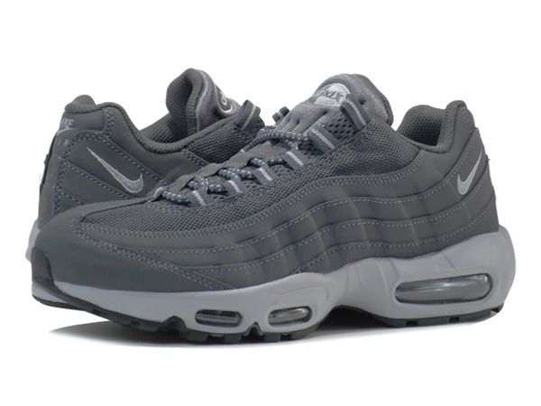 nike air max 95 wolf grey and black