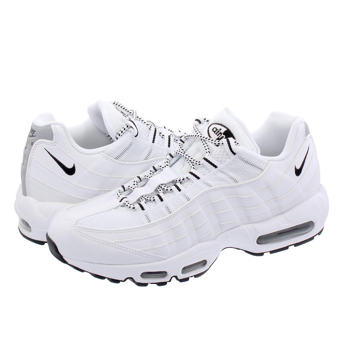 Nike Air Max 95 White Black Black | 609048 109