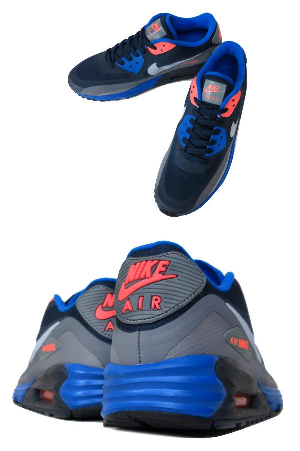 NIKE AIR MAX LUNAR 90 WR耐克空气最大月神90 WR BLUE/GREY/ORANGE