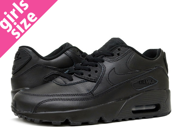 low priced 87eed d5b37 NIKE AIR MAX 90 LTR GS BLACK BLACK