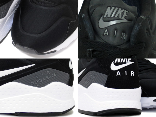 NIKE AIR ZOOM PEGASUS 92耐克空气变焦距镜头飞马座92 BLACK/WHITE/DARK GREY