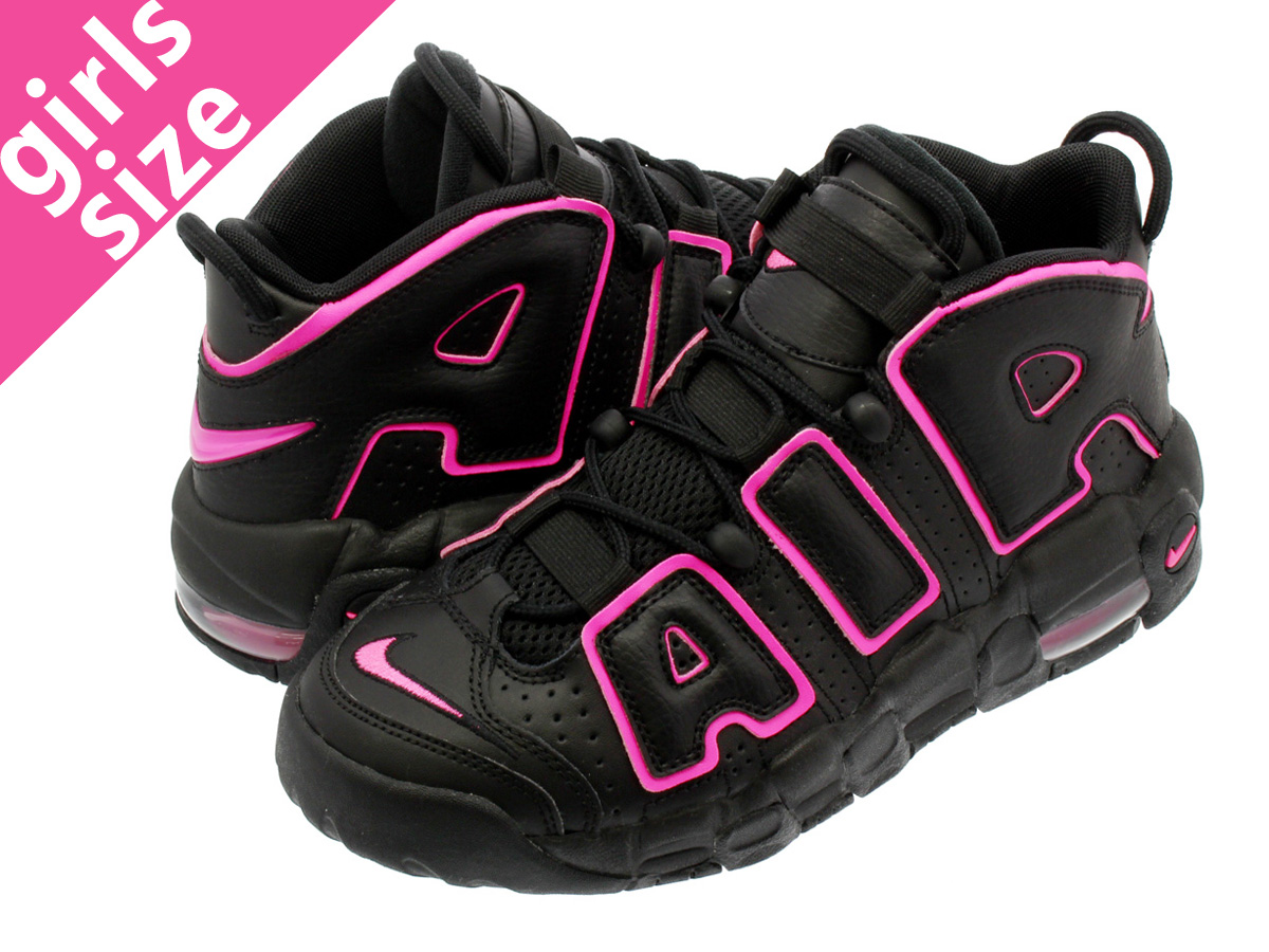 new concept 307b0 d10b9 NIKE AIR MORE UPTEMPO GS Nike more up tempo GS BLACKPINK BLAST