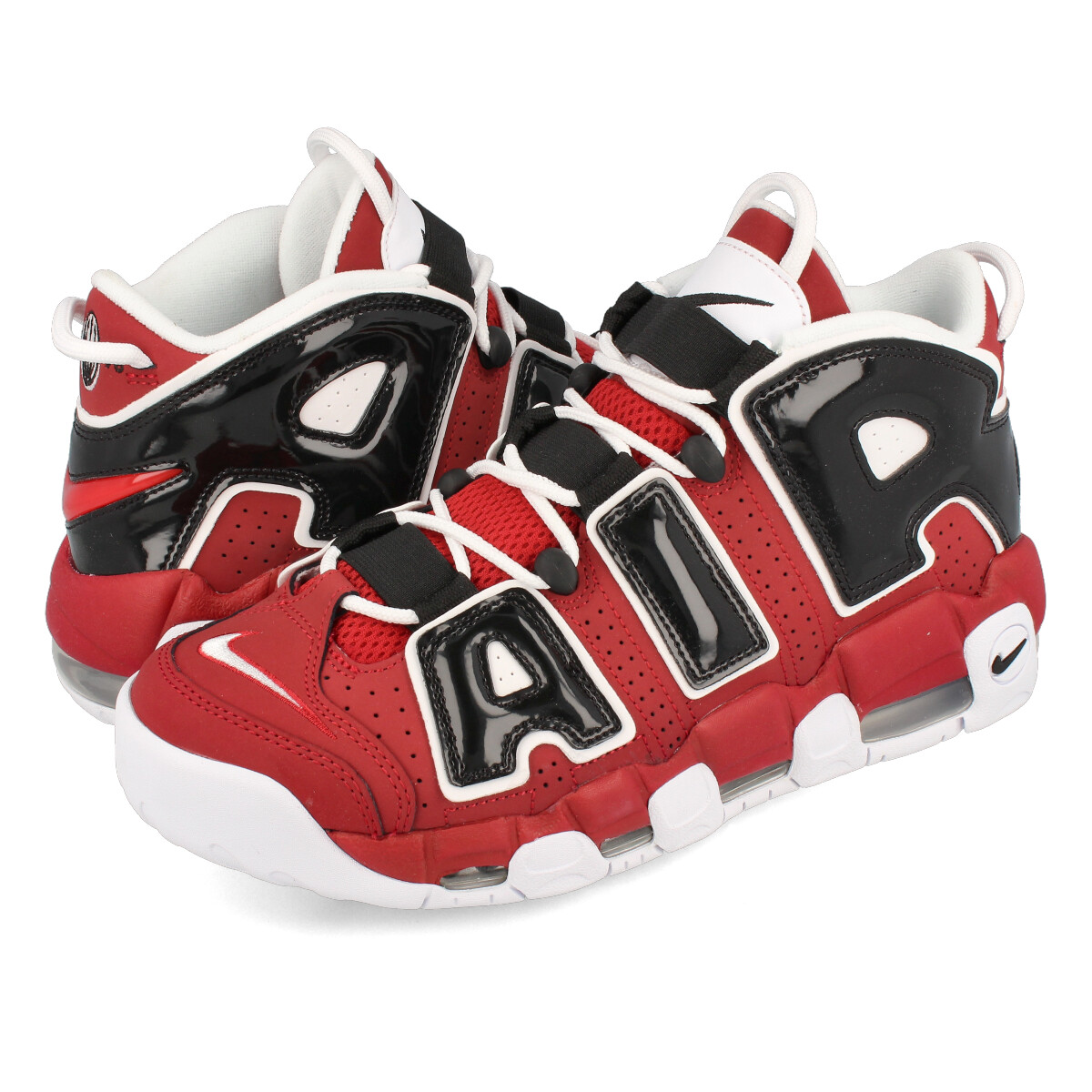 buy popular 00ffa 322dc NIKE AIR MORE UPTEMPO 96 Nike more up tempo 96 VARSITY RED WHITE BLACK ...