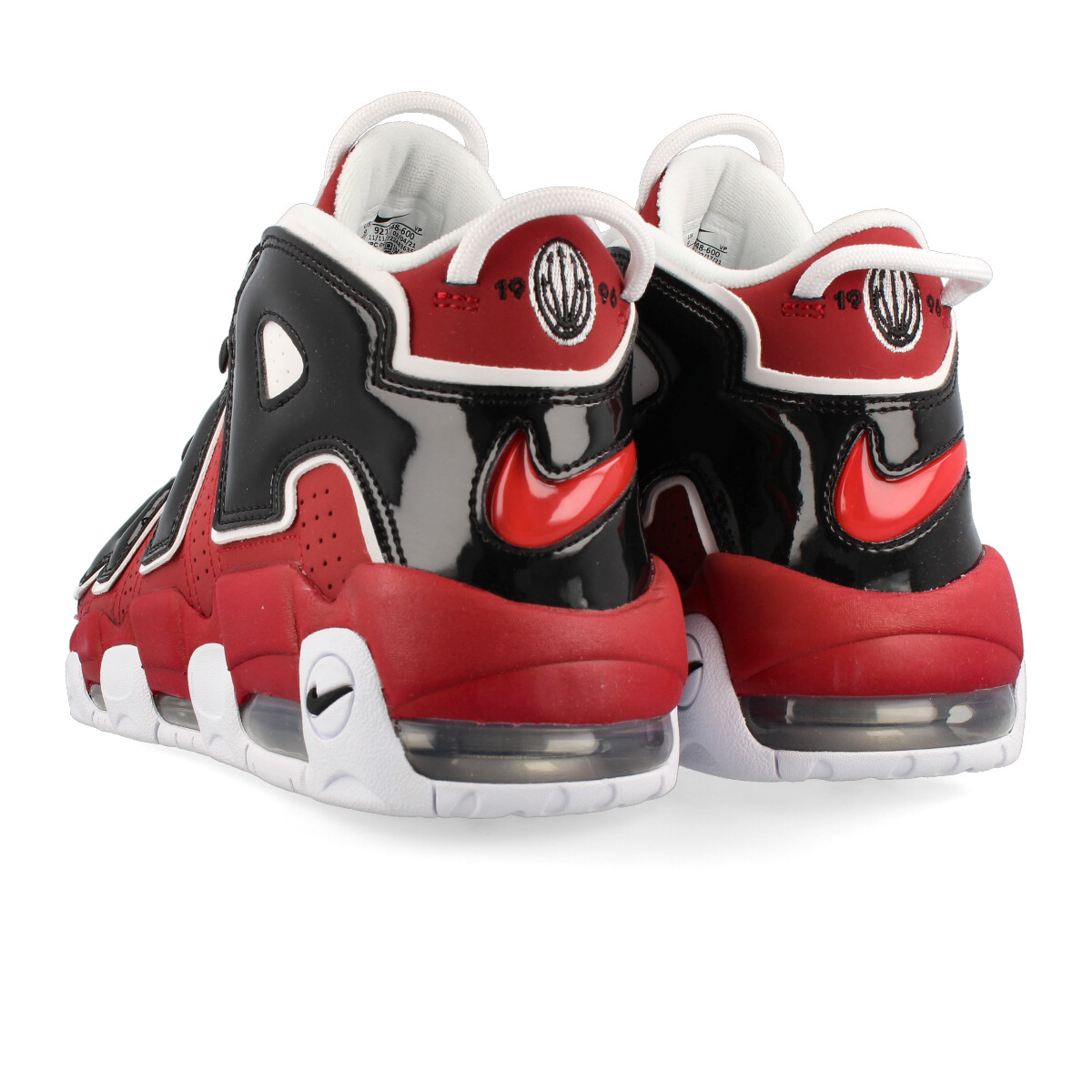 NIKE AIR MORE UPTEMPO 96耐克更拍子愈来愈快96 VARSITY RED/WHITE/BLACK