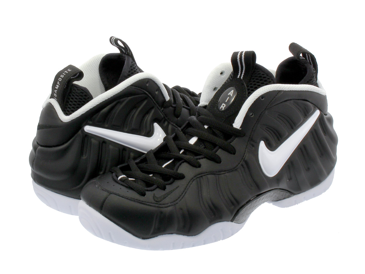 NIKE AIR FOAMPOSITE PRO 【Dr.Doom】 ナイキ エア フォーム ポジット プロ BLACK/WHITE/BLACK 624041-006