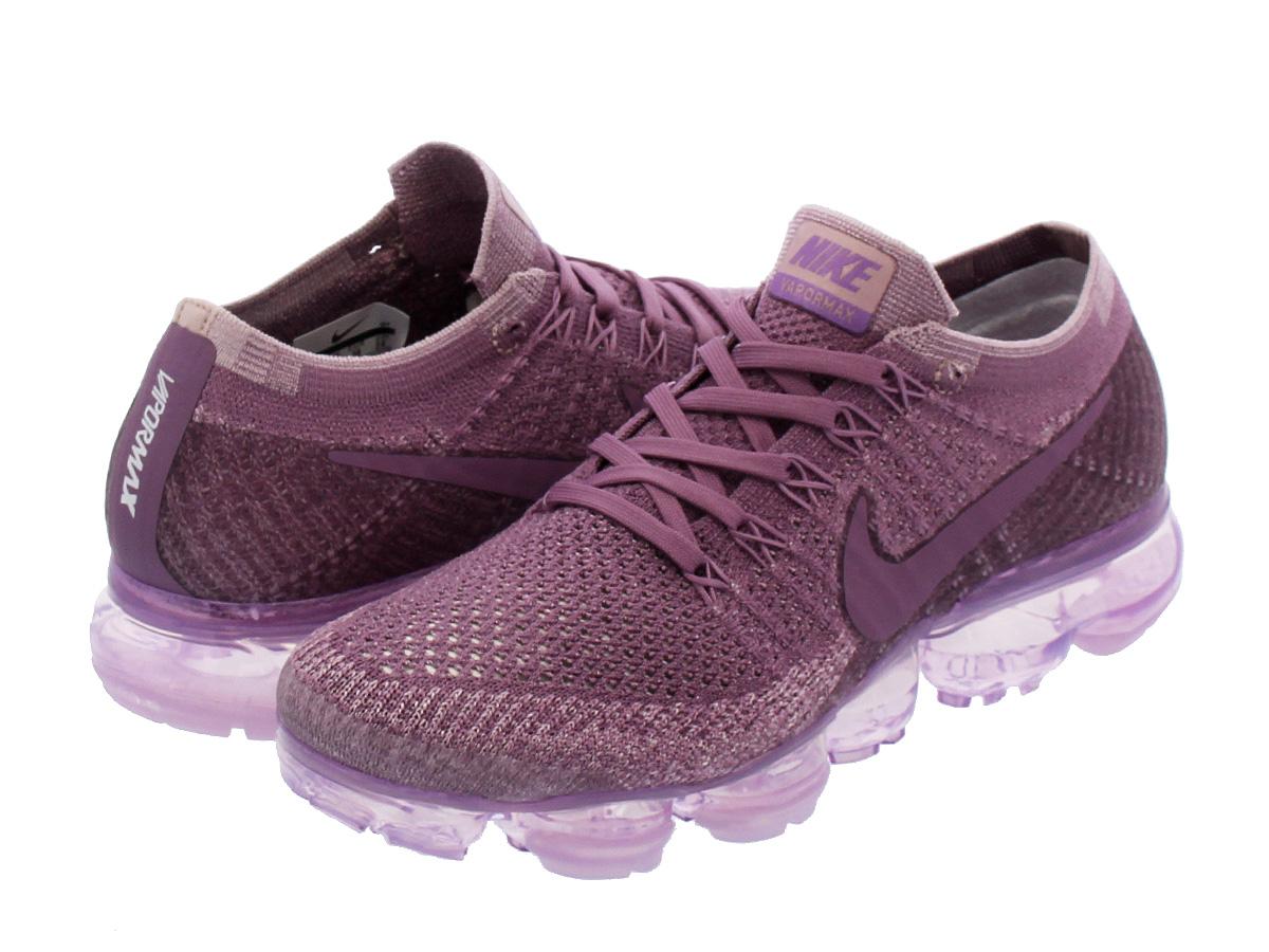 NIKE WMNS AIR VAPORMAX FLYKNIT Nike women vapor max fried food knit VIOLET  DUST PLUM FOG 84b7e9bba