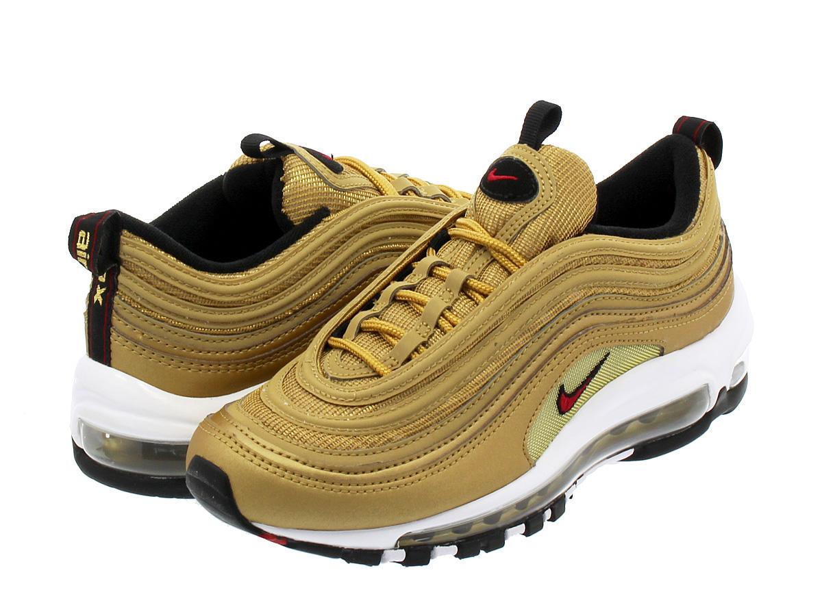 d77a975453bbc5 SELECT SHOP LOWTEX  NIKE WMNS AIR MAX 97 OG QS Nike women Air Max 97 OG QS  METALLIC GOLD VARSITY RED WHITE BLACK 885