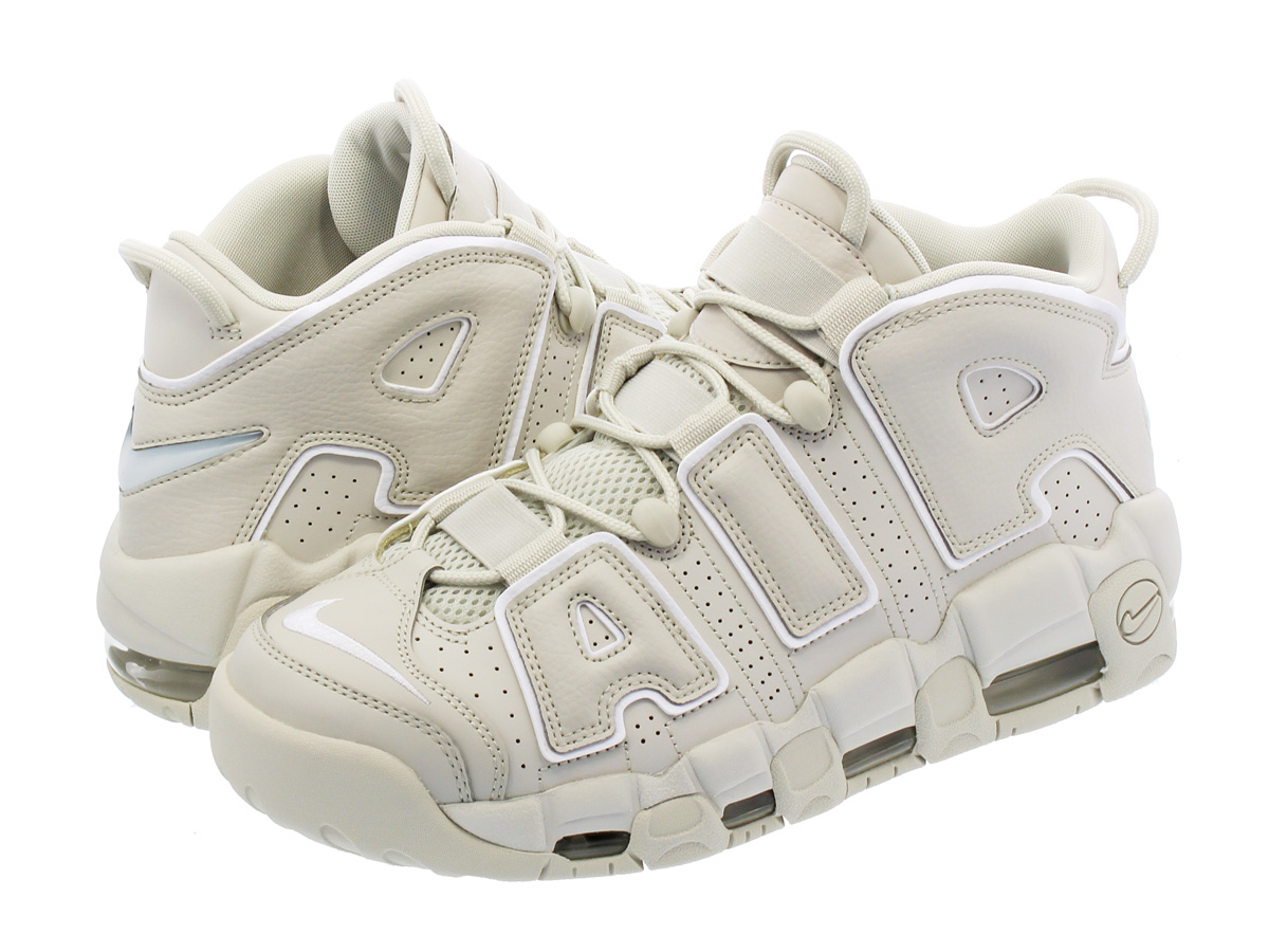 NIKE AIR MORE UPTEMPO 96 ナイキ モア アップ テンポ 96 LIGHT BONE/WHITE/LIGHT BONE 921948-001