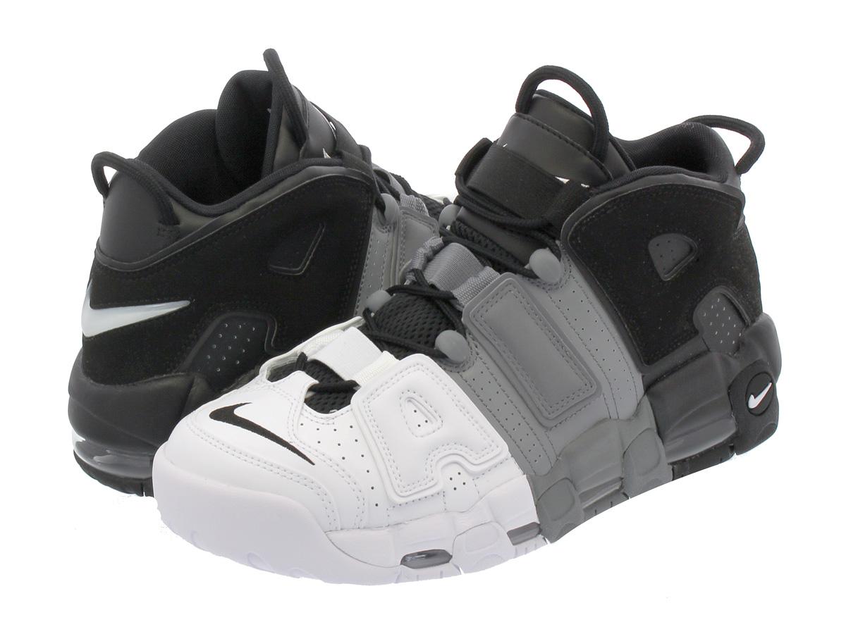 new concept 07cdf 4ce7f NIKE AIR MORE UPTEMPO 96 Nike more up tempo 96 BLACK BLACK COOL GREY ...