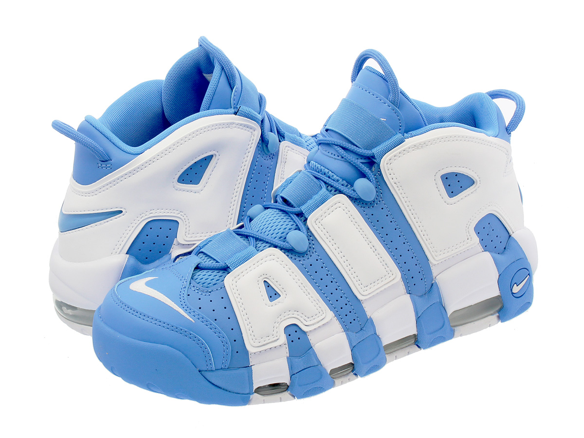 buy popular 12007 fcd10 NIKE AIR MORE UPTEMPO 96 Nike more up tempo 96 UNIVERSITY BLUE WHITE
