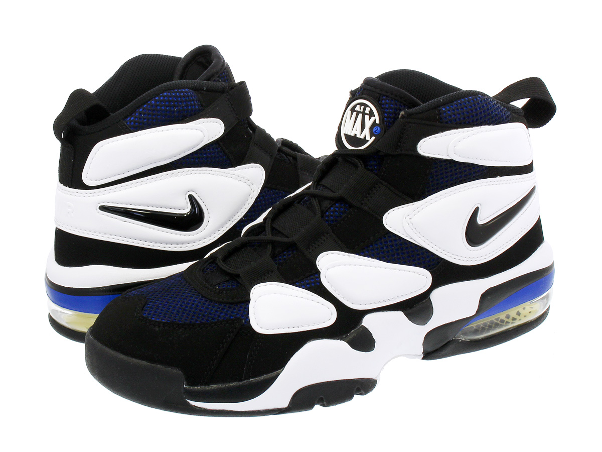 SELECT SHOP LOWTEX | Rakuten Global Market: NIKE AIR MAX 2 UPTEMPO '94 Kie Ney AMAX 2 up tempo 94 WHITE/BLACK/ROYAL BLUE