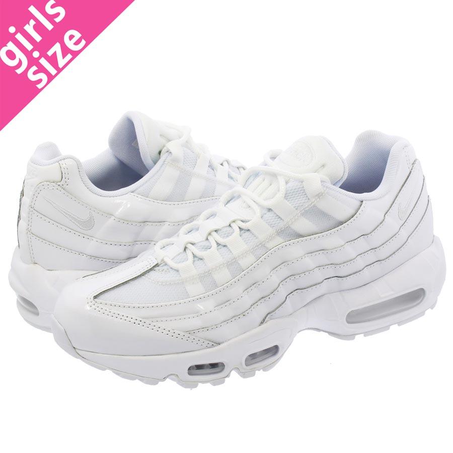 Nike Wmns Air Max 95 PRM All White 307960 108