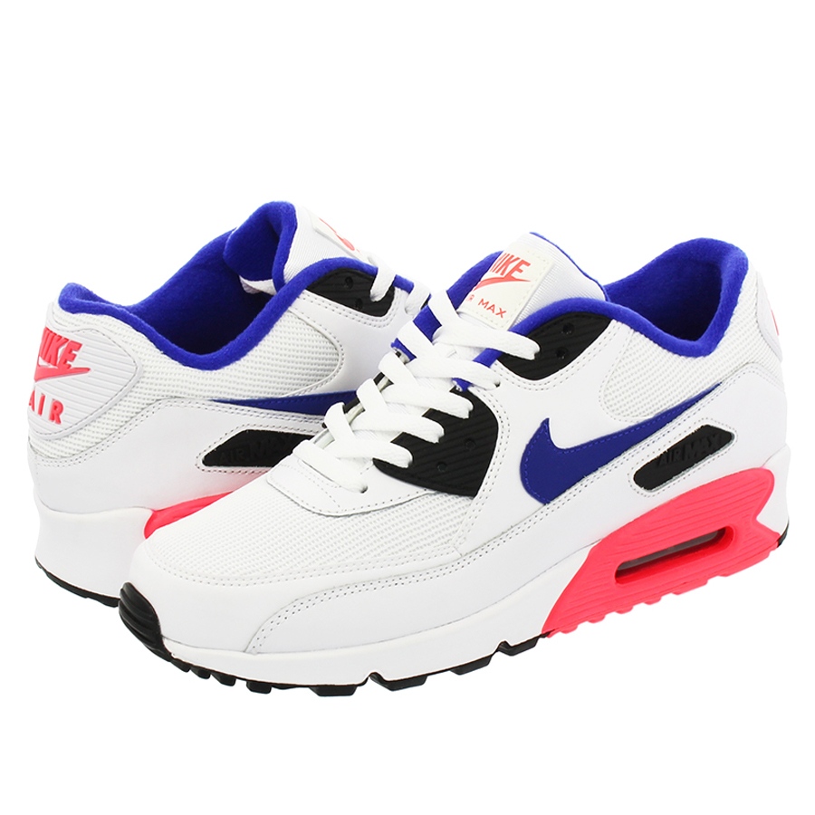 2d2dccbae5 SELECT SHOP LOWTEX: NIKE AIR MAX 90 ESSENTIAL Kie Ney AMAX 90 essential  WHITE/ULTRAMARINE/SOLAR RED/BLACK | Rakuten Global Market