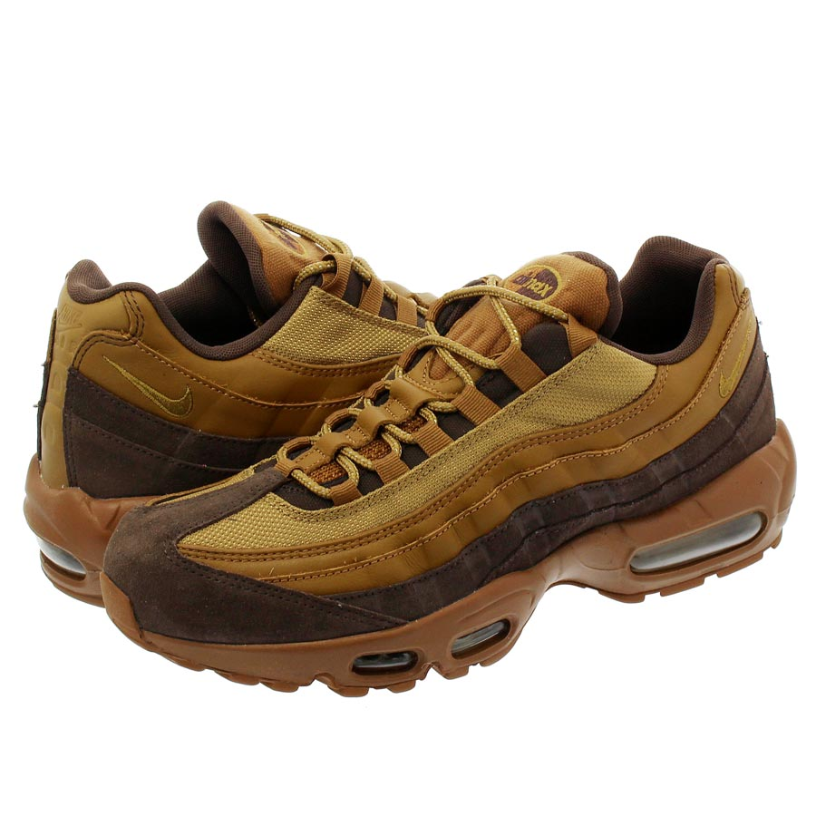 NIKE AIR MAX 95 PREMIUM ナイキ エア マックス 95 プレミアム BAROQUE BROWN/GOLDEN BEIGE/ALE BROWN 538416-203