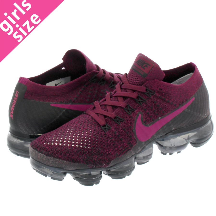 NIKE WMNS AIR VAPORMAX FLYKNIT Nike women vapor max fried food knit BERRY  PURPLE/BLACK